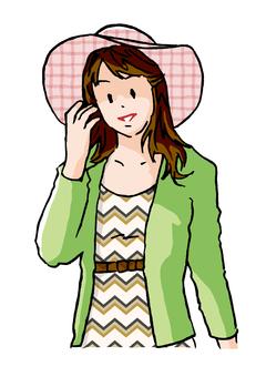 Hat's older sister