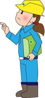 Female field supervisor (Dobojyo)