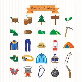 Mountain climbing goods