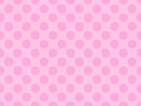 Pink polka dots background