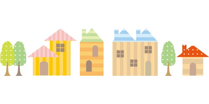 A cute house