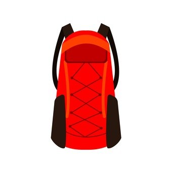 Mountaineering Supplies - Zac (Red)