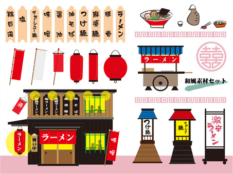 Shop Character Flyer Set 2