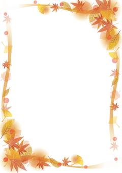 秋天的框架
