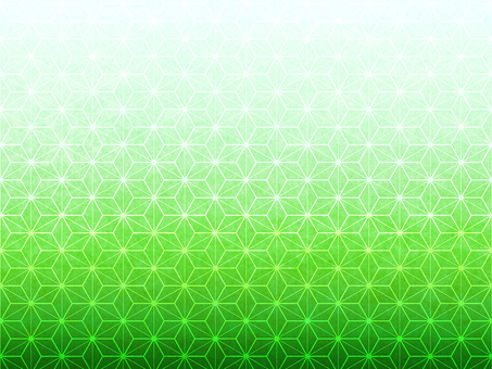 Hemp leaf pattern background on green paper