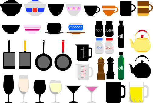 Cookware 2 Kitchen material collection