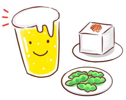 Beer and snacks 2