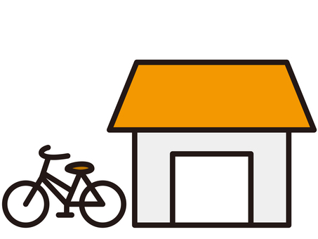 bicycle parking space