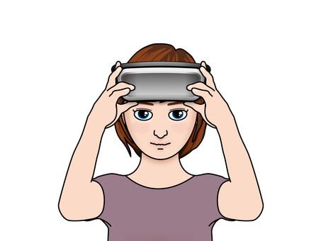 VR goggles (9) girls