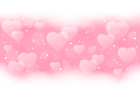 Heart shine background