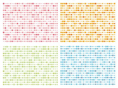 Dot pattern pattern