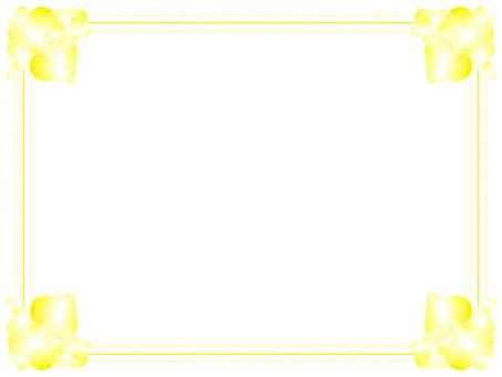 Heart Frame (Yellow)