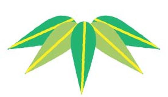 竹 낙서 바람