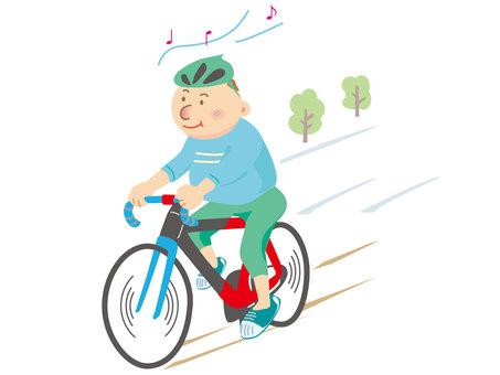 Measures against metabolism by bicycle
