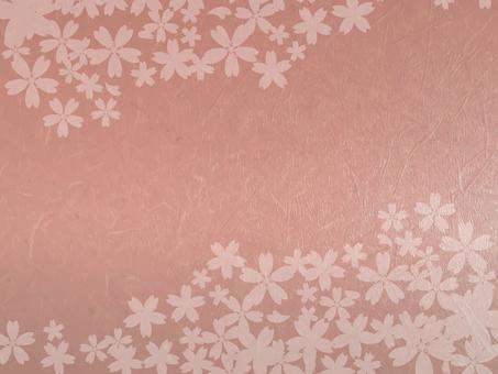 桜 and paper 171104