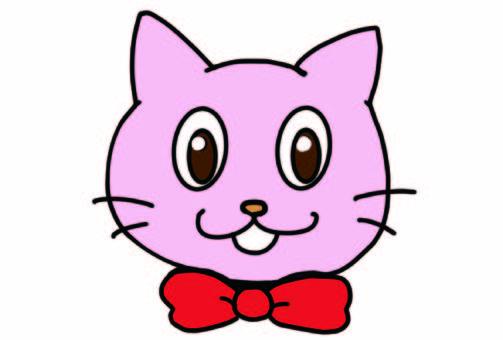 貓戴著領帶
