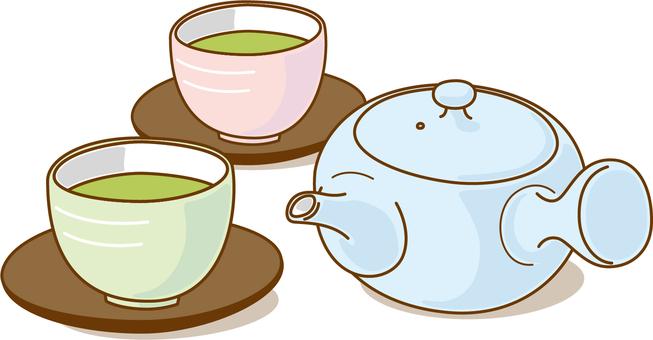 Things tea pot and water bath _ 2