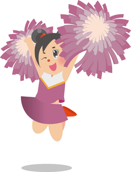 Cheerleader (Dango Hair)