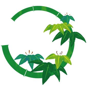花丸紋様(竹)