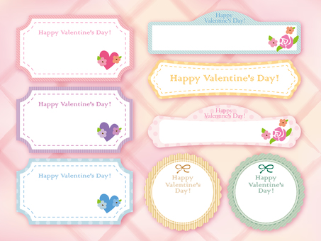 Valentine image with 012 characters