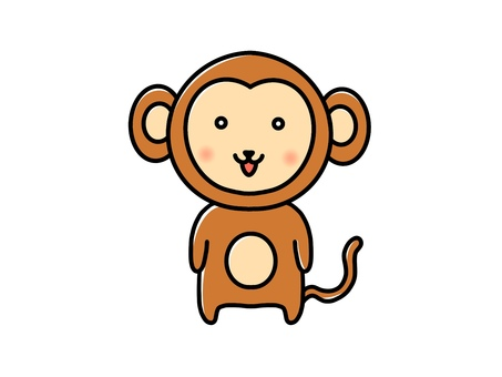 Standing monkey