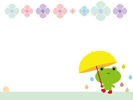 Rainy day frame
