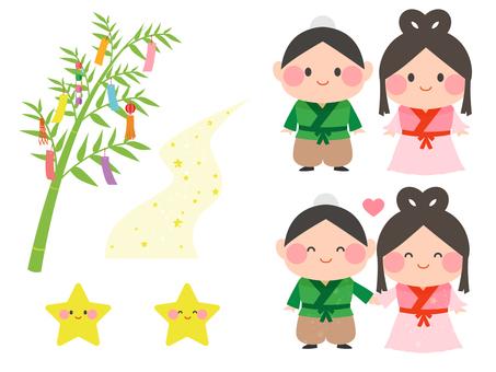Many Tanabata motifs