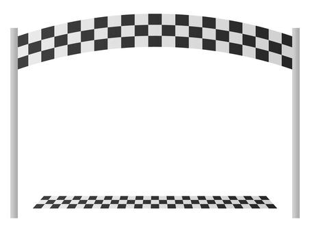 Start line arch