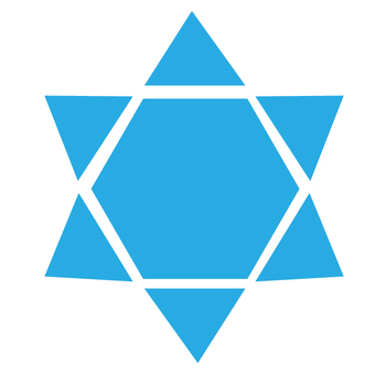 Icon - hexagonal star