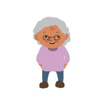 시골 할머니 2
