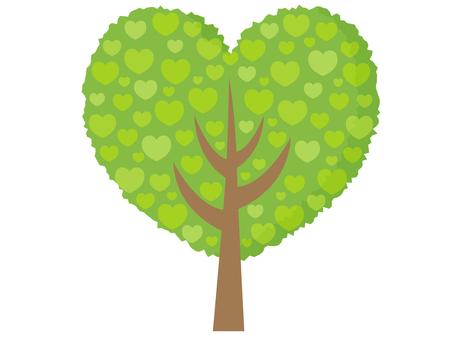 Heart tree 3