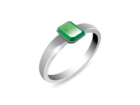 Ring (Emerald)