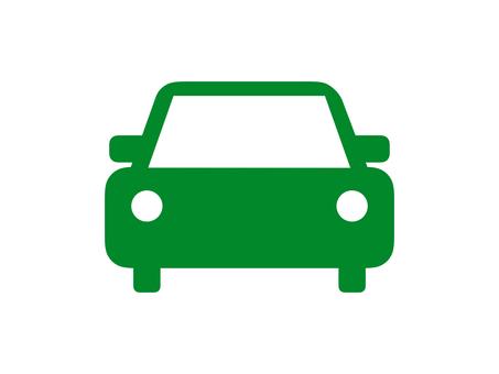 Car Vehicle Silhouette Green