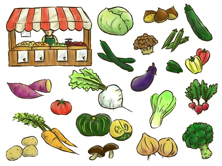Vegetable Marche