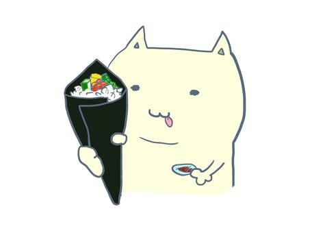 貓手捲壽司
