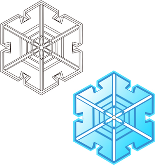 Snow Crystal 2