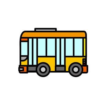 Illustration of a car (working car: bus)