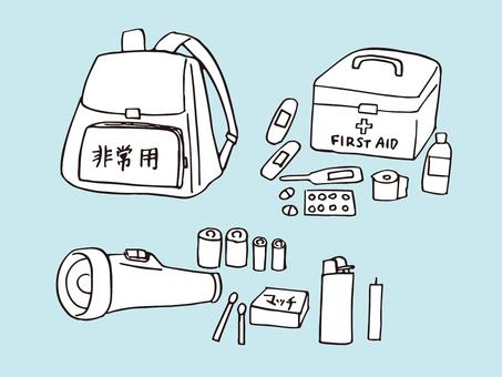 Disaster prevention goods 01
