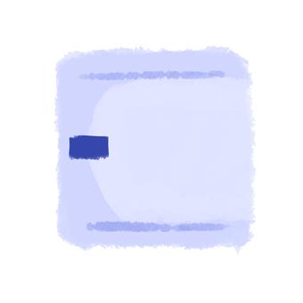 Sanitary napkin daytime blue