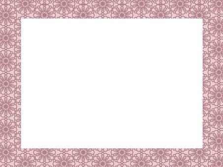 Botanical pattern frame 24