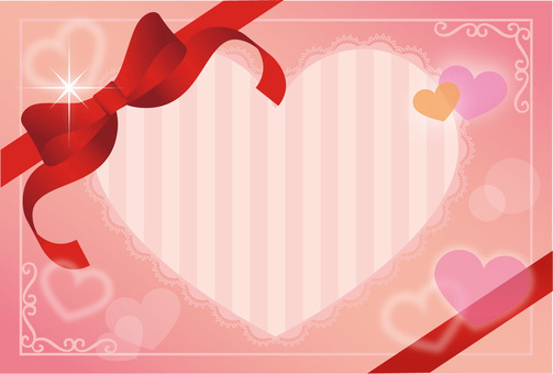 Heart's Ribbon Gift Card