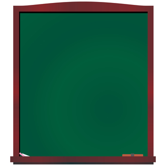 Blackboard vertical menu board welcome board