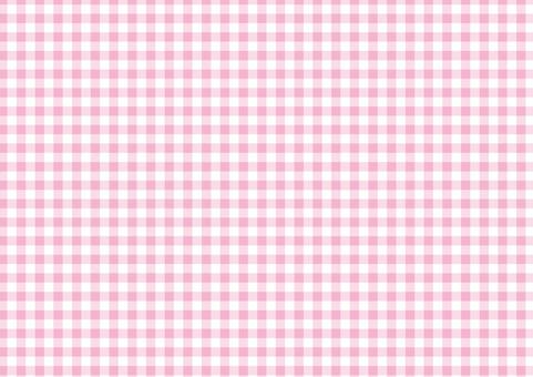 봄 핑크 ☆ 단골 체크 무늬 ☆ 배경 소재