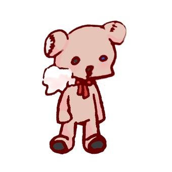 Shabby stuffed toy