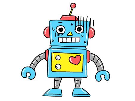 機器人[蒼白]