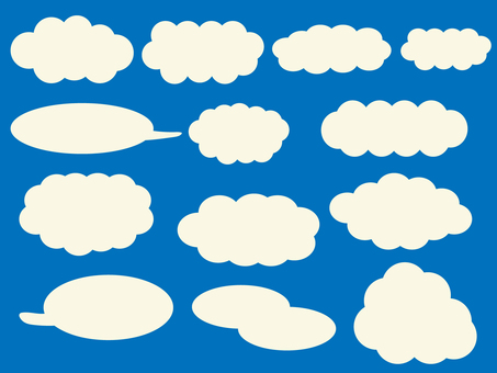Cloud material set