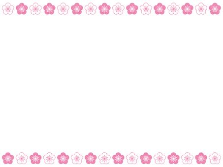 프레임 - 홍매화 매화 03