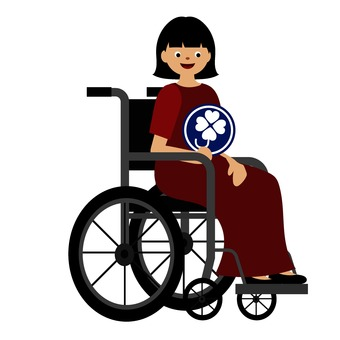 Women with disability mark