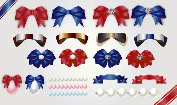 A sense of luxury ribbon set