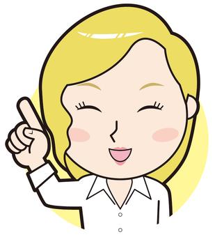 Fingering English Lecturer (Smile)